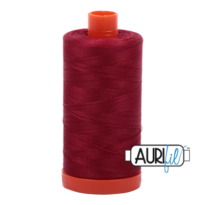 Col. #1103 Burgundy - Aurifil 50 Weight