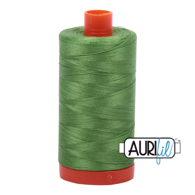 Col. #1114 Grass Green - Aurifil 50 Weight