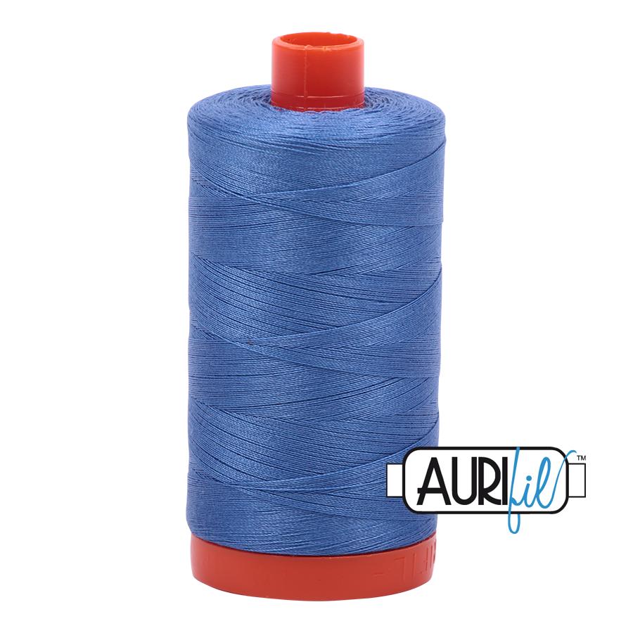 Col. #1128 Light Blue Violet - Aurifil 50 Weight