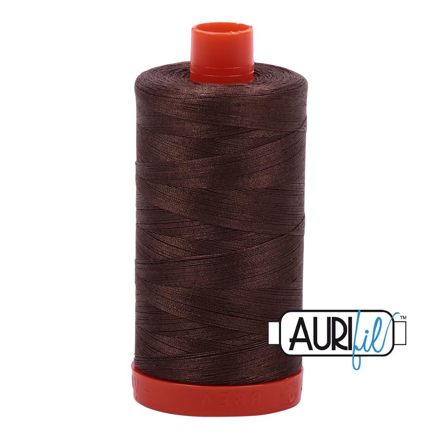 Col. #1140 Bark - Aurifil 50 Weight