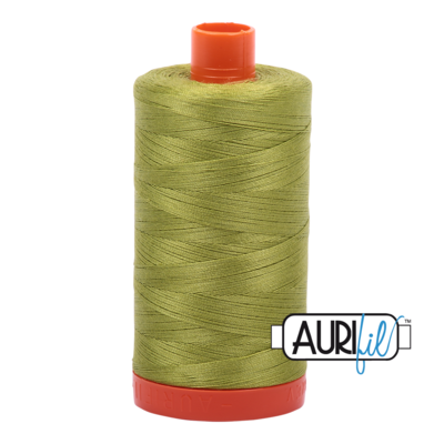 Col. #1147 Light Leaf Green - Aurifil 50 Weight