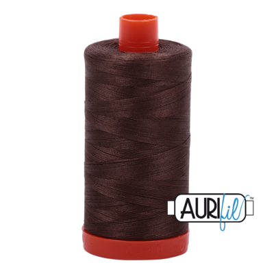 Col. #1140 Bark - Aurifil 50 Weight