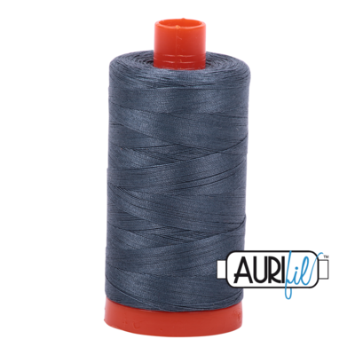 Col. #1158 Medium Grey - Aurifil 50 Weight