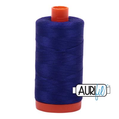 Col. #1200 Blue Violet - Aurifil 50 Weight