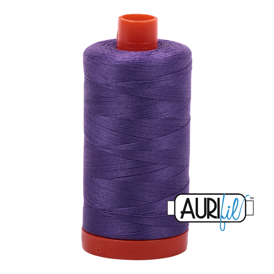 Col. #1243 Dusty Lavender - Aurifil 50 Weight