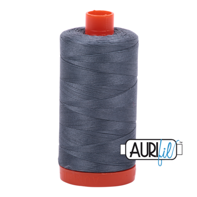 Col. #1246 Dark Grey - Aurifil 50 Weight