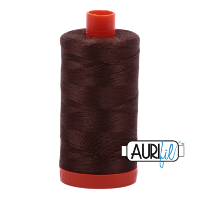 Col. #1285 Medium Bark - Aurifil 50 Weight