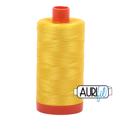 Col. #2120 Canary - Aurifil 50 Weight