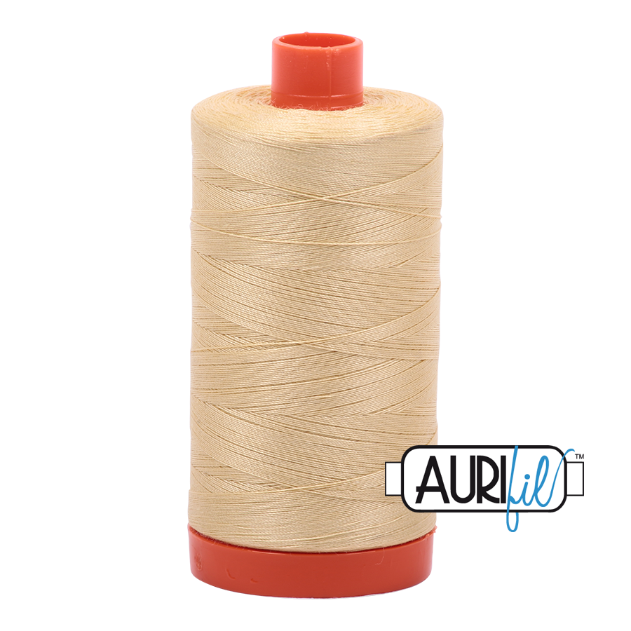 Col. #2125 Wheat - Aurifil 50 Weight