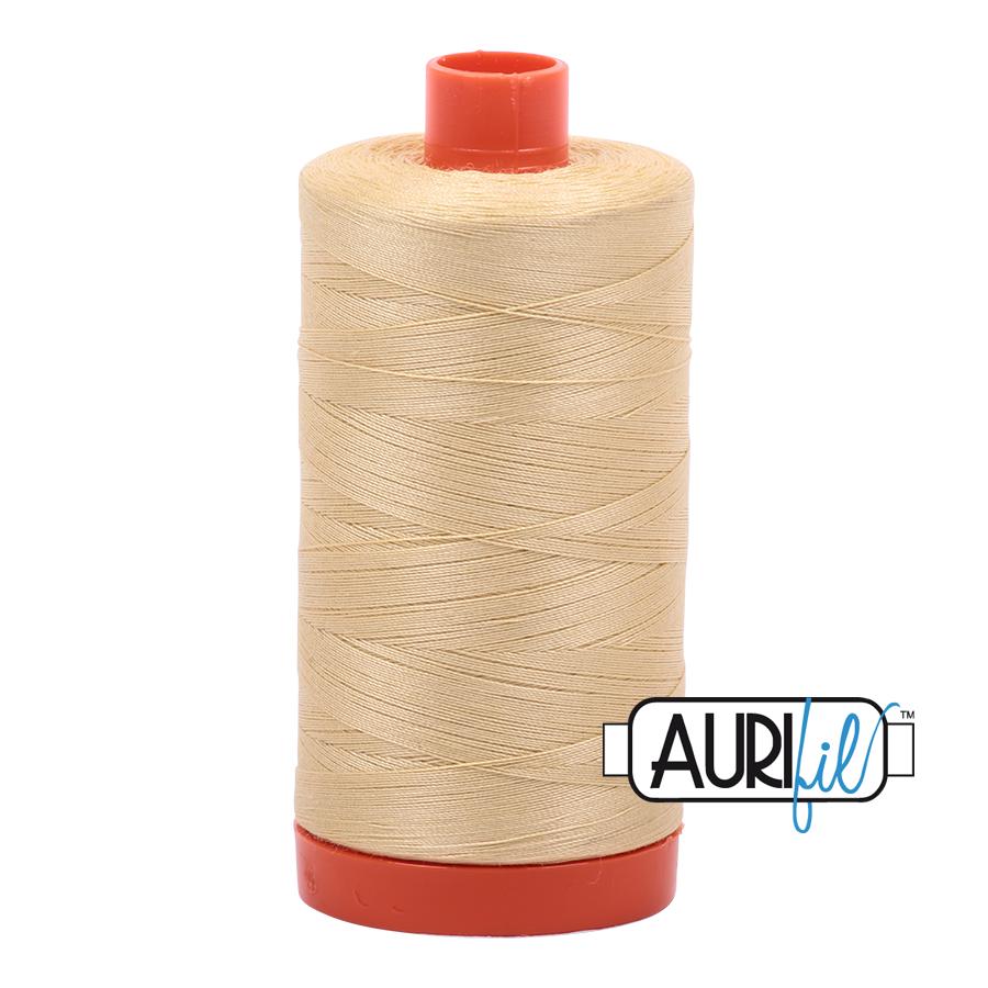 Col. #2125 Wheat - Aurifil 50 Weight