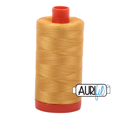 Col. #2132 Tarnished Gold - Aurifil 50 Weight