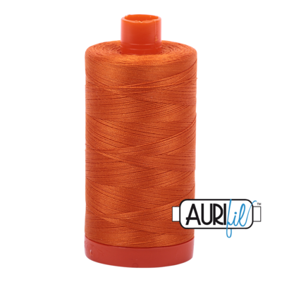 Col. #2150 Pumpkin - Aurifil 50 Weight