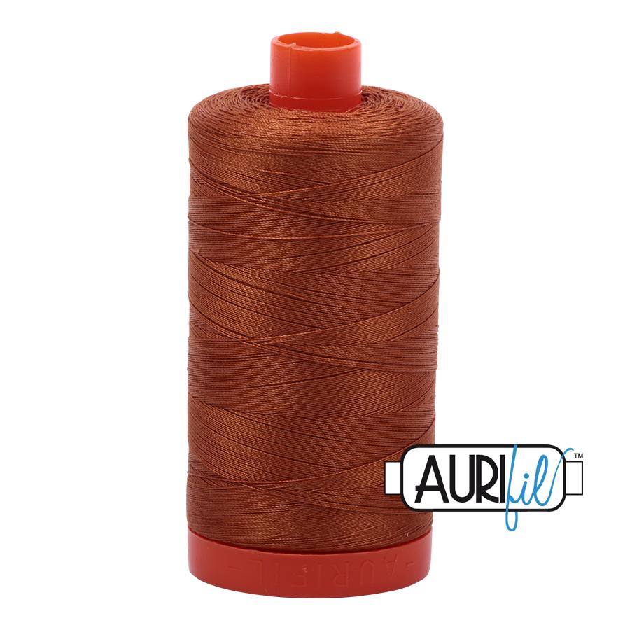 Col. #2155 Cinnamon - Aurifil 50 Weight