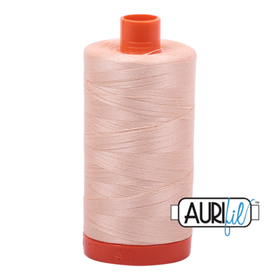 Col. #2205 Apricot - Aurifil 50 Weight