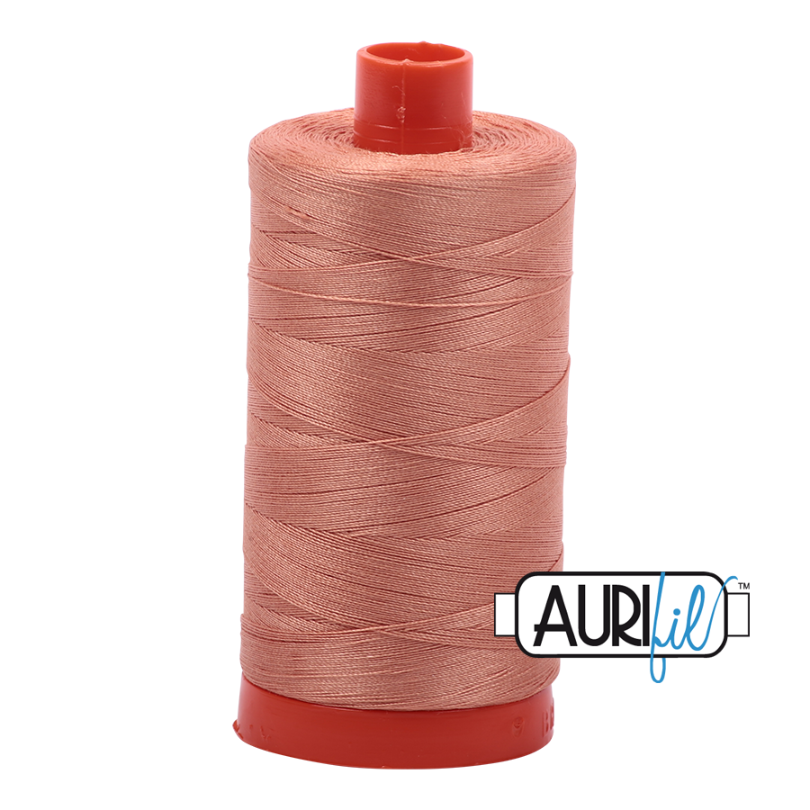 Col. #2215 Peach - Aurifil 50 Weight