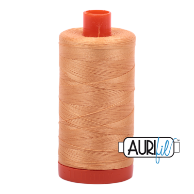 Col. #2214 Golden Honey - Aurifil 50 Weight