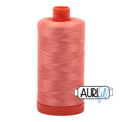 Col. #2220 Light Salmon - Aurifil 50 Weight