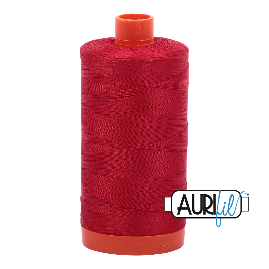 Col. #2250 Red - Aurifil 50 Weight