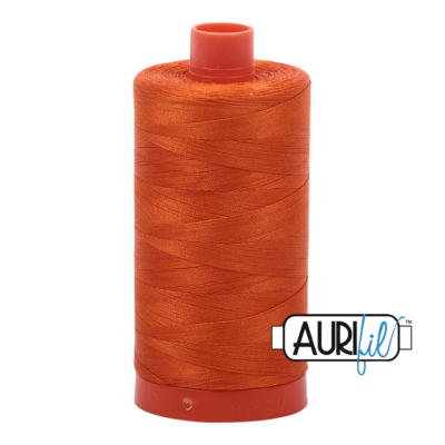 Col. #2235 Orange - Aurifil 50 Weight