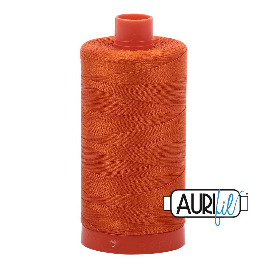 Col. #2235 Orange - Aurifil 50 Weight