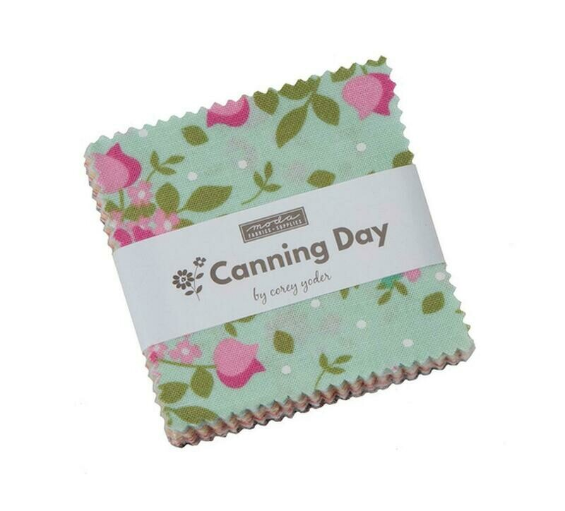 Corey Yoder Canning Day Charm Squares