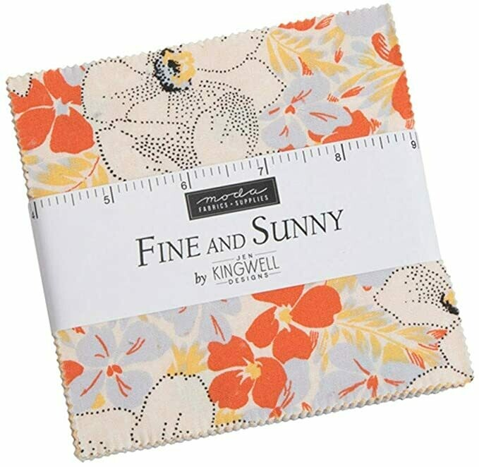 Jen Kingwell Fine and Sunny Charm Squares