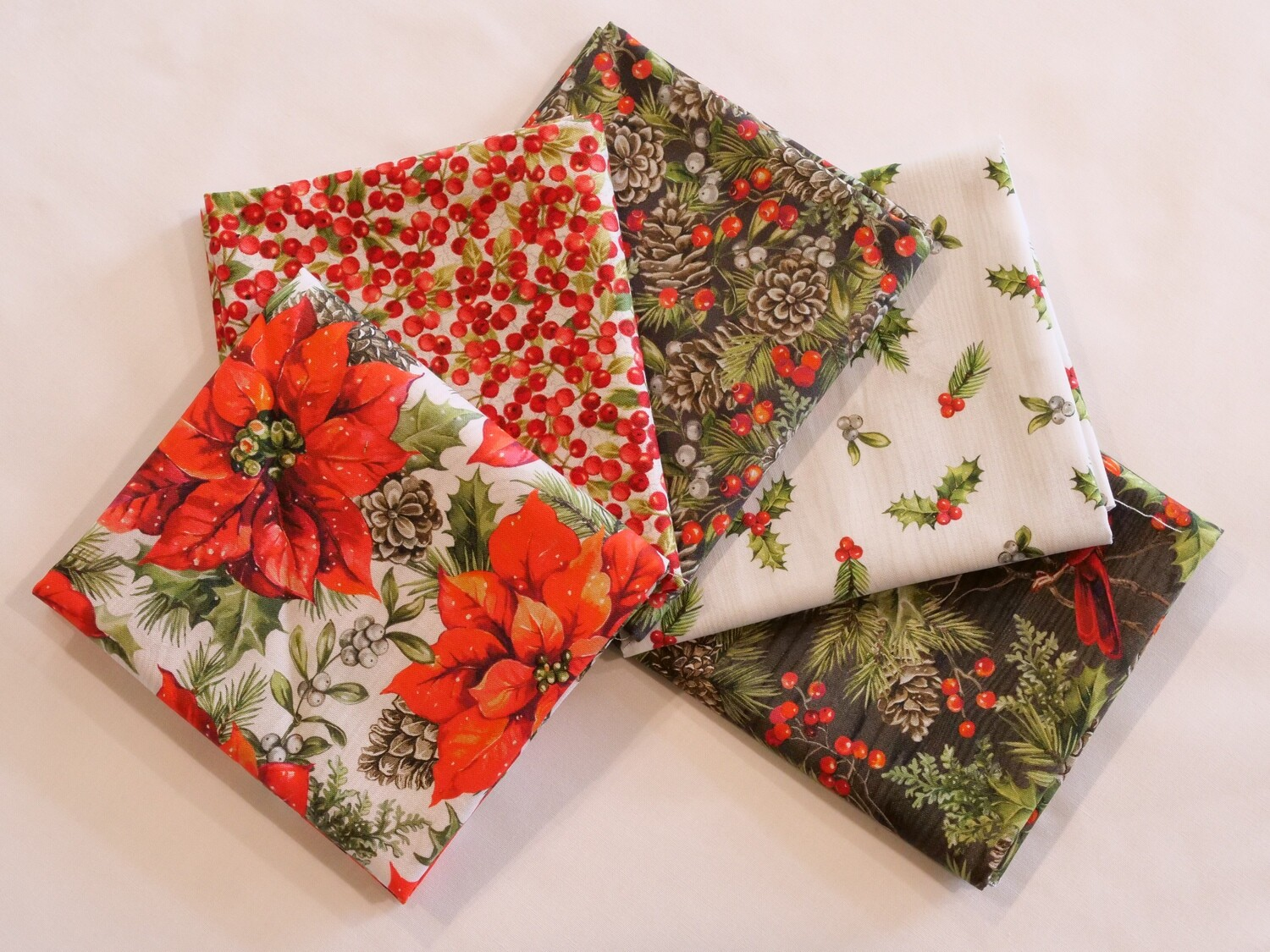 The Scarlet Feather Fat Quarter Bundle