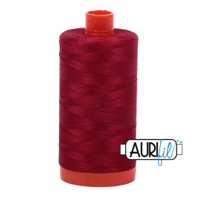Col. #2260 Red Wine - Aurifil 50 Weight