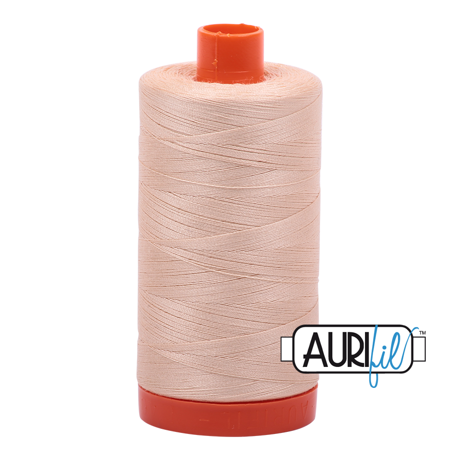 Col. #2315 Shell - Aurifil 50 Weight