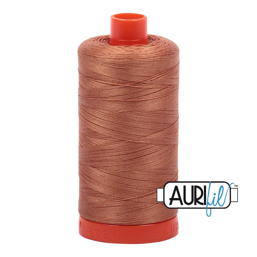 Col. #2330 Light Chestnut - Aurifil 50 Weight