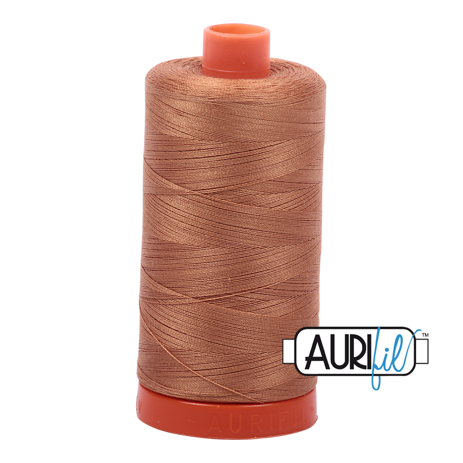 Col. #2335 Light Cinnamon - Aurifil 50 Weight