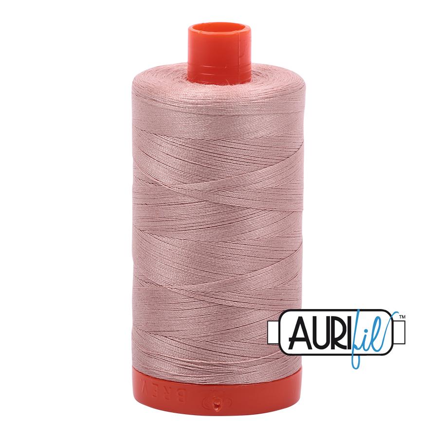 Col. #2375 Antique Blush - Aurifil 50 Weight