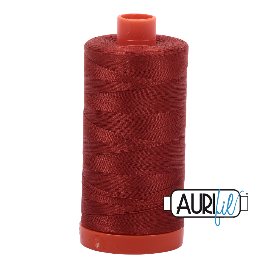 Col. #2385 Terracotta - Aurifil 50 Weight