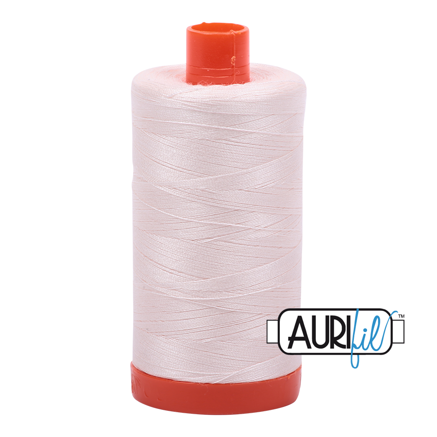 Col. #2405 Oyster - Aurifil 50 Weight