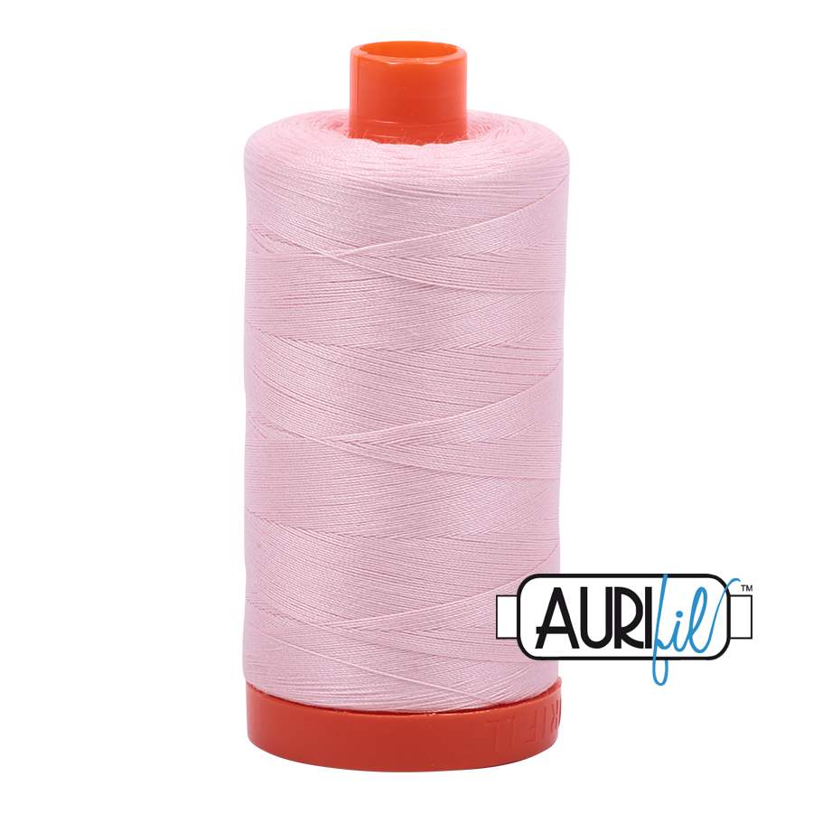Col. #2410 Pale Pink - Aurifil 50 Weight