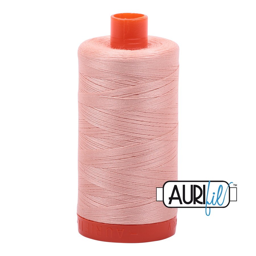 Col. #2420 Light Blush - Aurifil 50 Weight