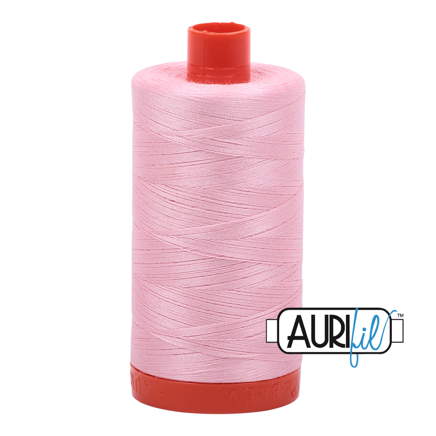 Col. #2423 Baby Pink - Aurifil 50 Weight