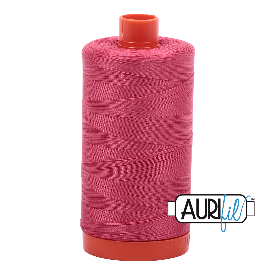 Col. #2440 Peony - Aurifil 50 Weight