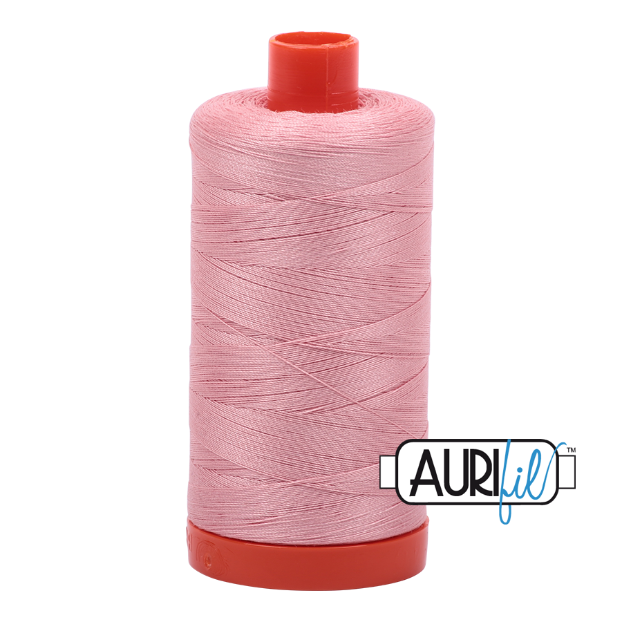 Col. #2437 Light Peony - Aurifil 50 Weight