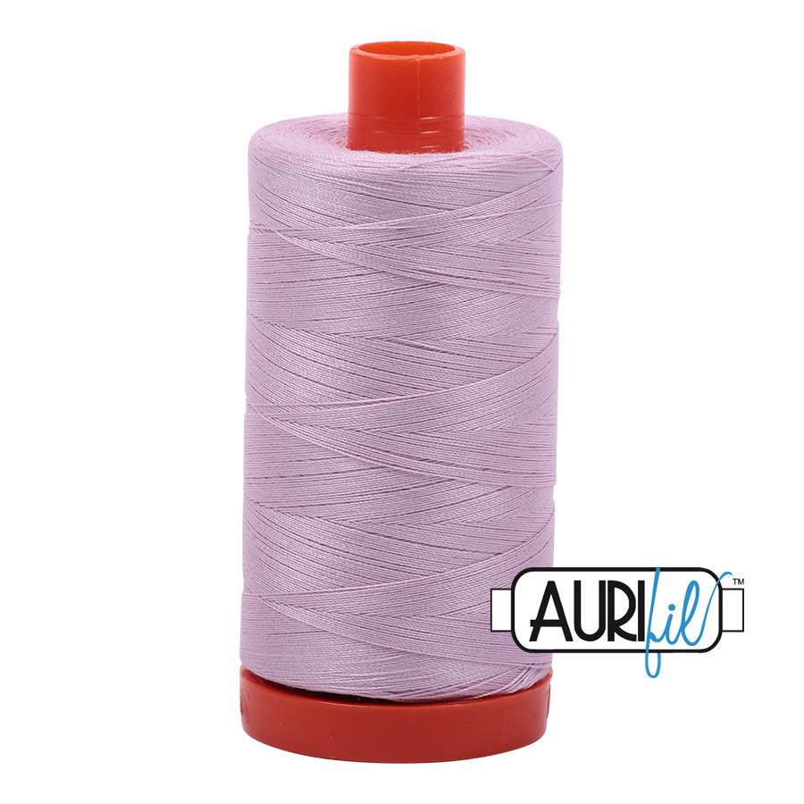 Col. #2510 Light Lilac - Aurifil 50 Weight