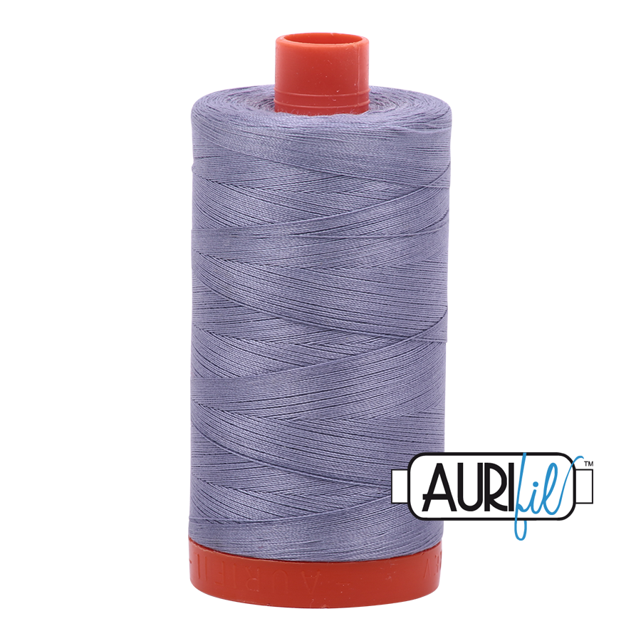 Col. #2524 Grey Orchid - Aurifil 50 Weight