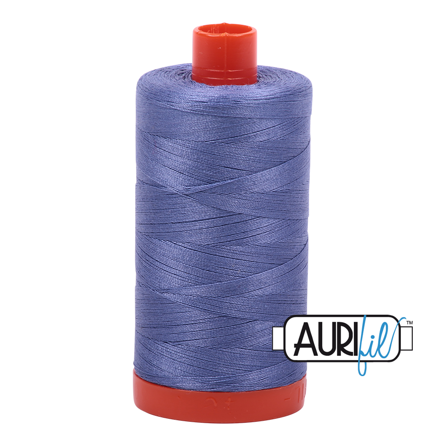 Col. #2525 Dusty Blue Violet - Aurifil 50 Weight