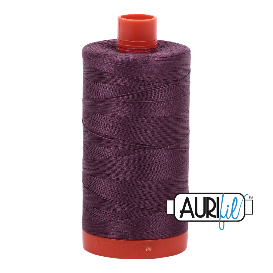 Col. #2568 Mulberry - Aurifil 50 Weight