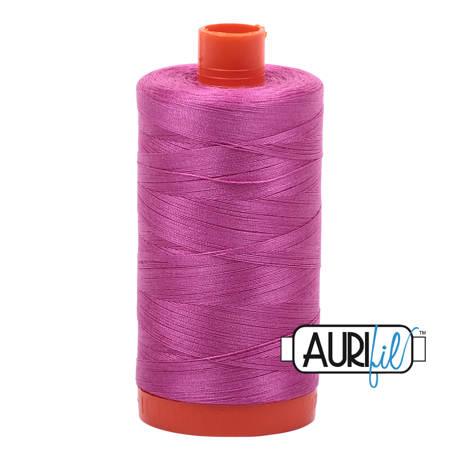 Col. #2588 Light Magenta - Aurifil 50 Weight