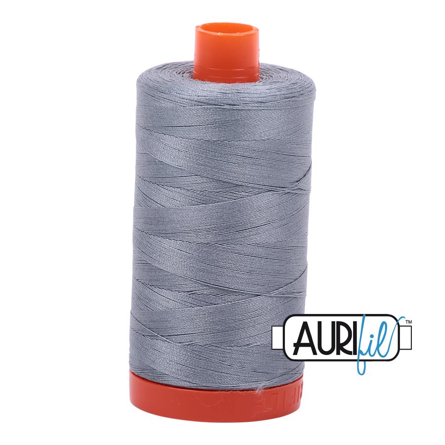 Col. #2610 Light Blue Grey - Aurifil 50 Weight