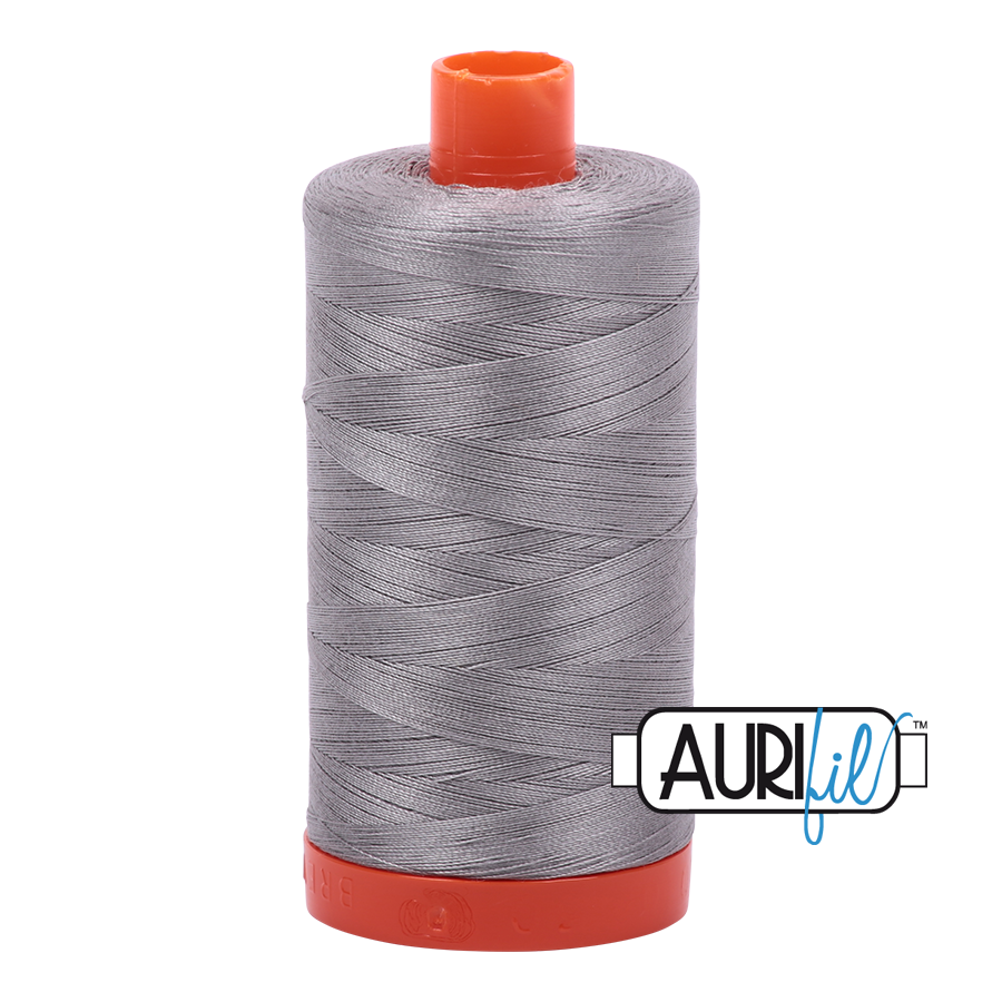 Col. #2620 Stainless Steel - Aurifil 50 Weight