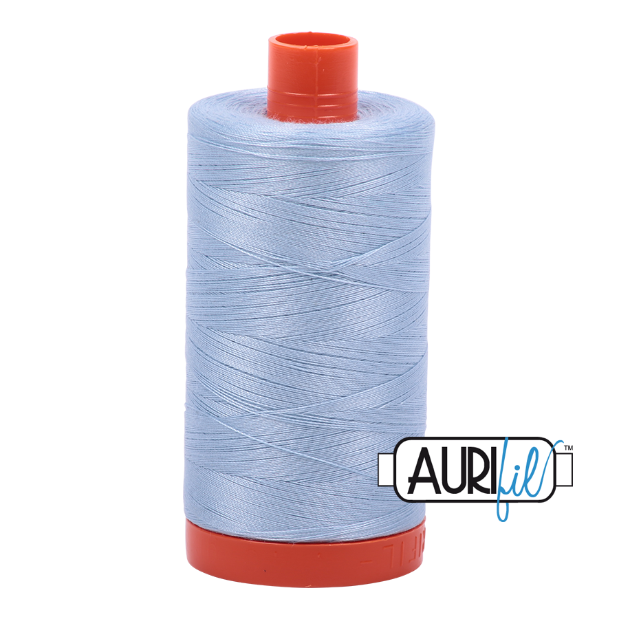 Col. #2710 Light Robins Egg - Aurifil 50 Weight