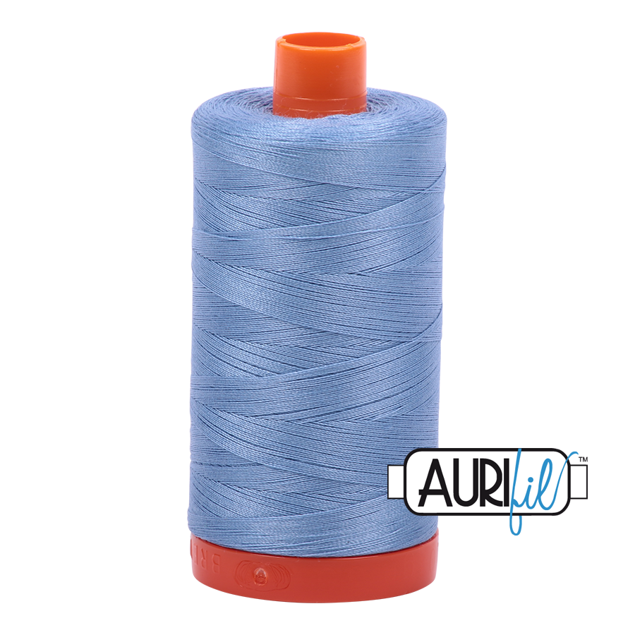 Col. #2720 Light Delft Blue - Aurifil 50 Weight