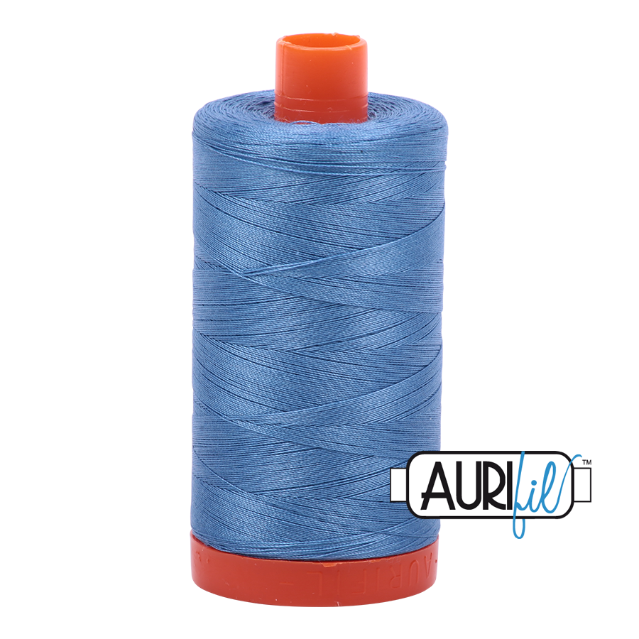 Col. #2725 Light Wedgewood - Aurifil 50 Weight