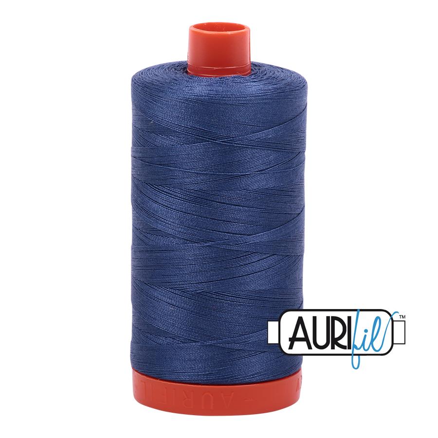 Col. #2775 Steel Blue - Aurifil 50 Weight